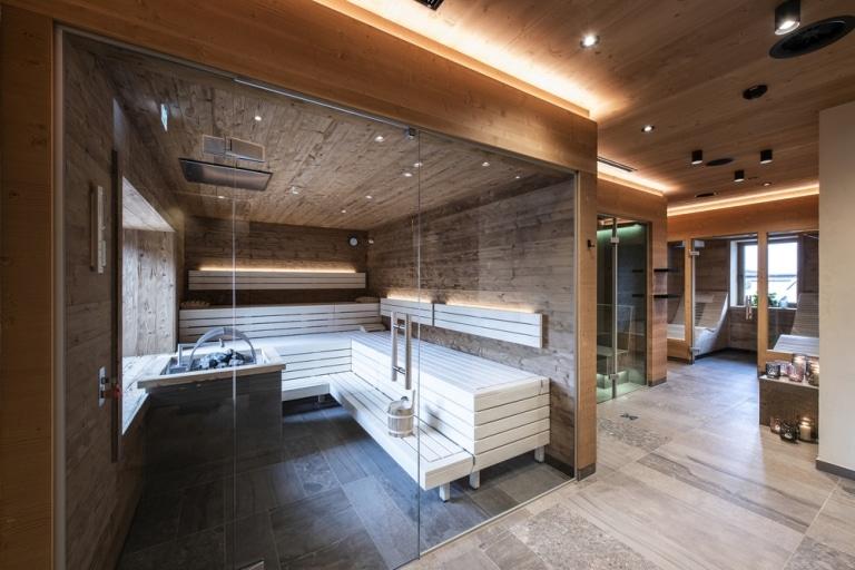 Sauna Bereich im Kramerwirt