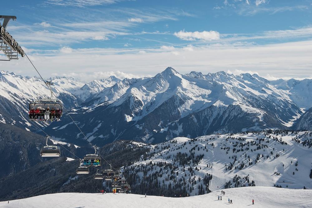 Winter in Mayrhofen