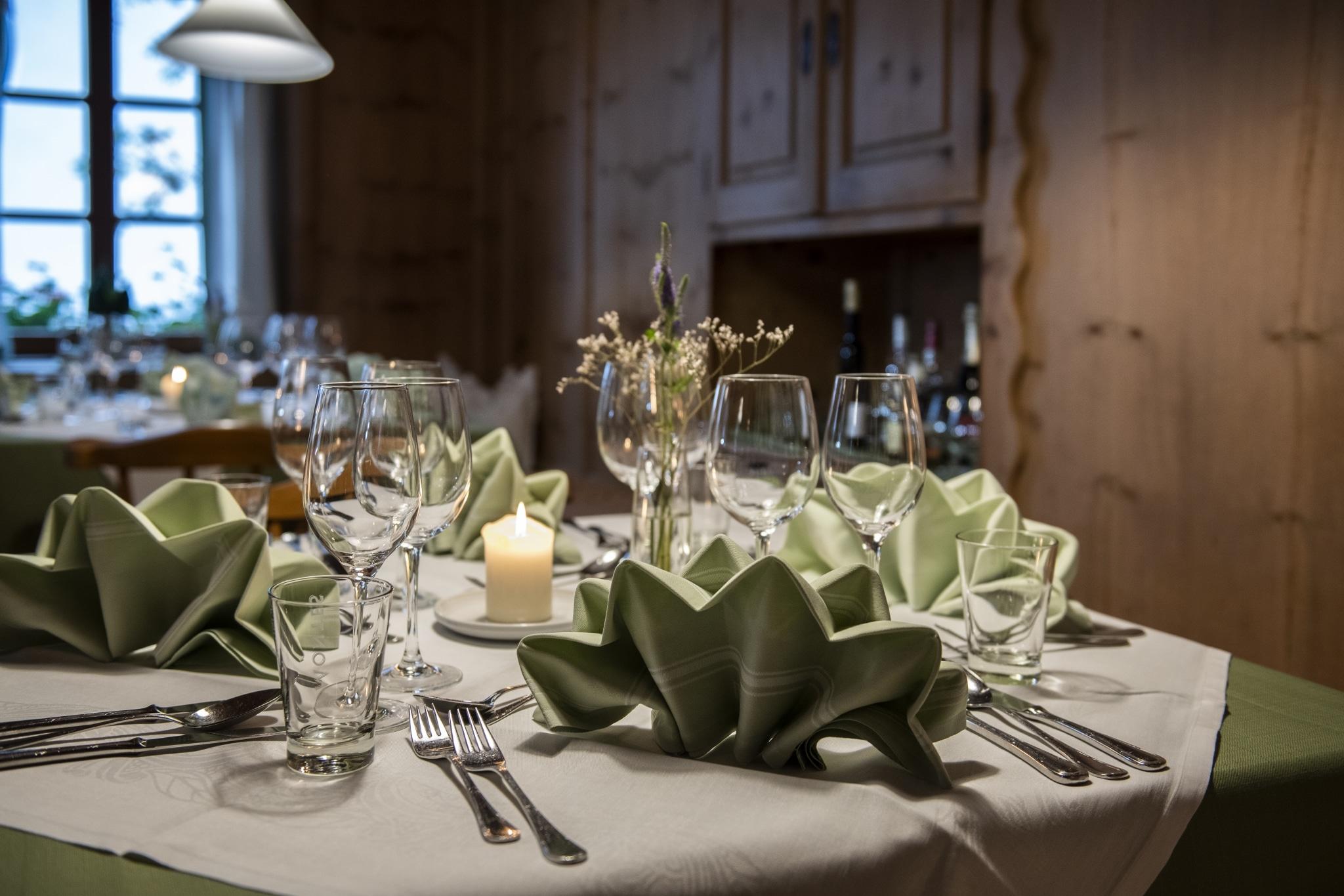 Tisch in der Bauernstube