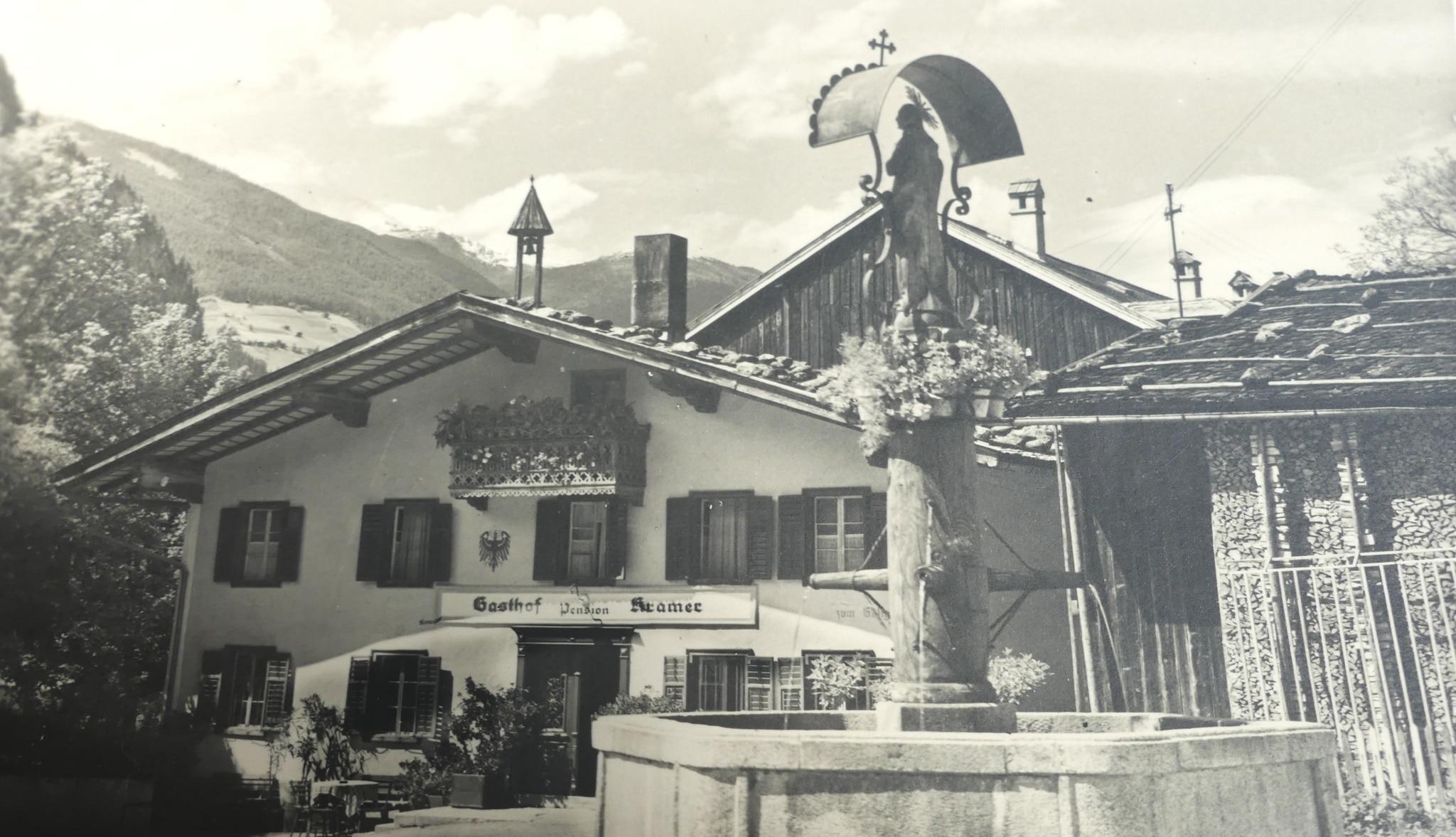 Marienbrunnen in Mayrhofen