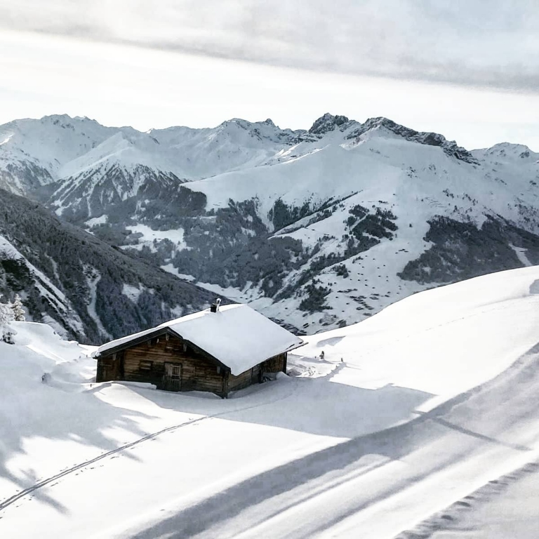 Penkenalm im Winter