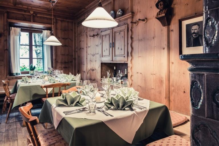 Bauernstube im Alpenhotel Kramerwirt