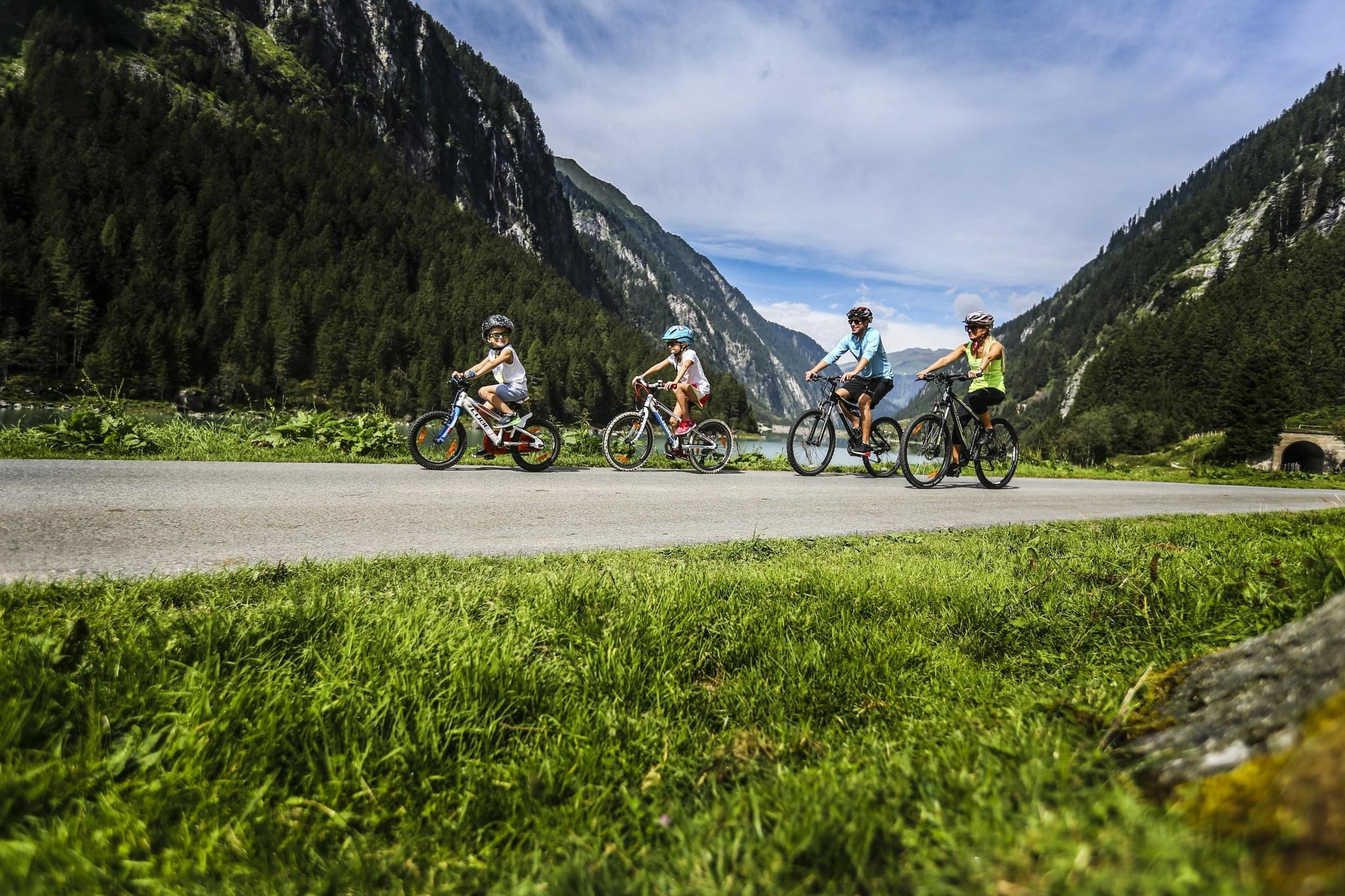 Familien Rad Trip durchs Zillertal
