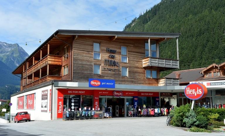 Haus der Mitte in Mayrhofen, Ferienwohnungen