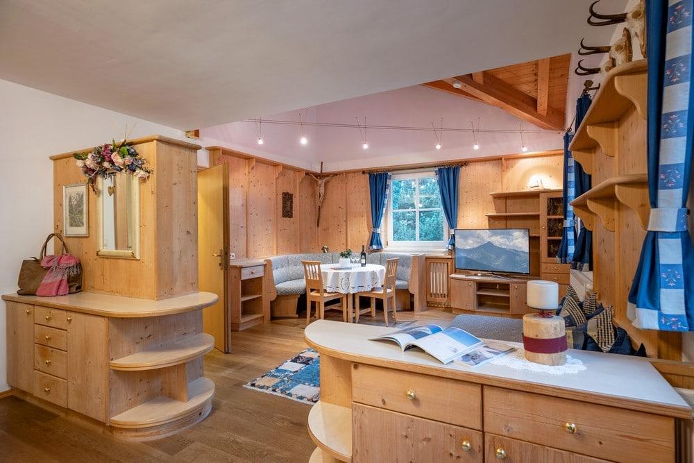 Apartment im Försterhaus mit Küche