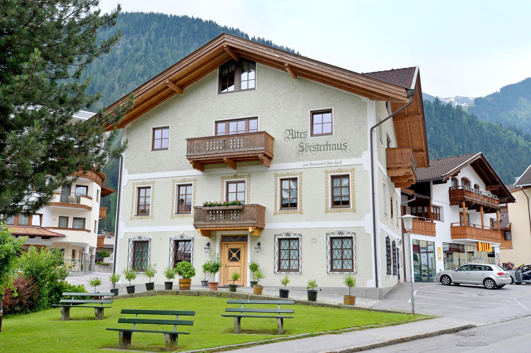 Altes Försterhaus zum Kramerwirt, Mayrhofen im Zillertal