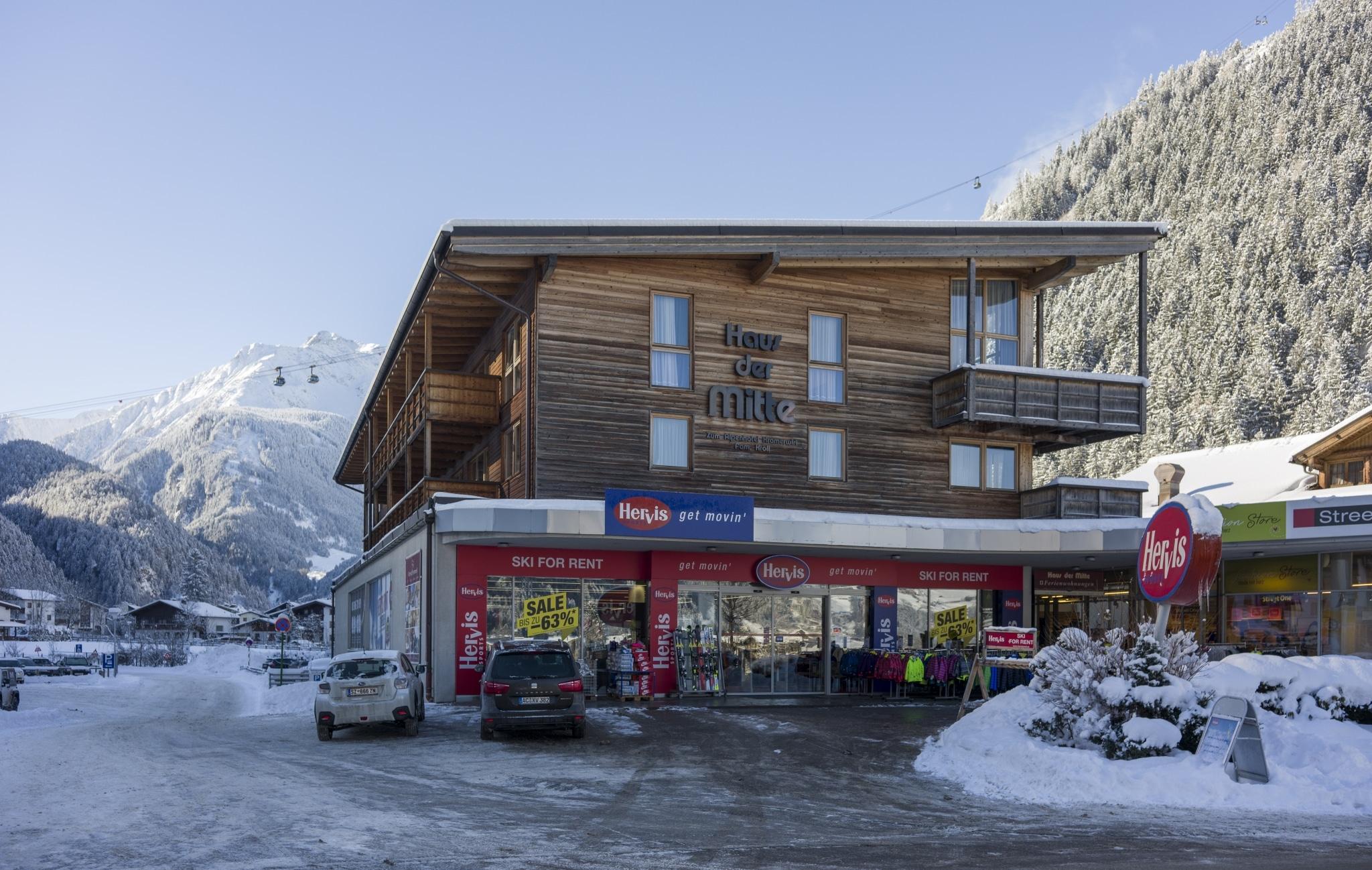 Haus der Mitte in Mayrhofen