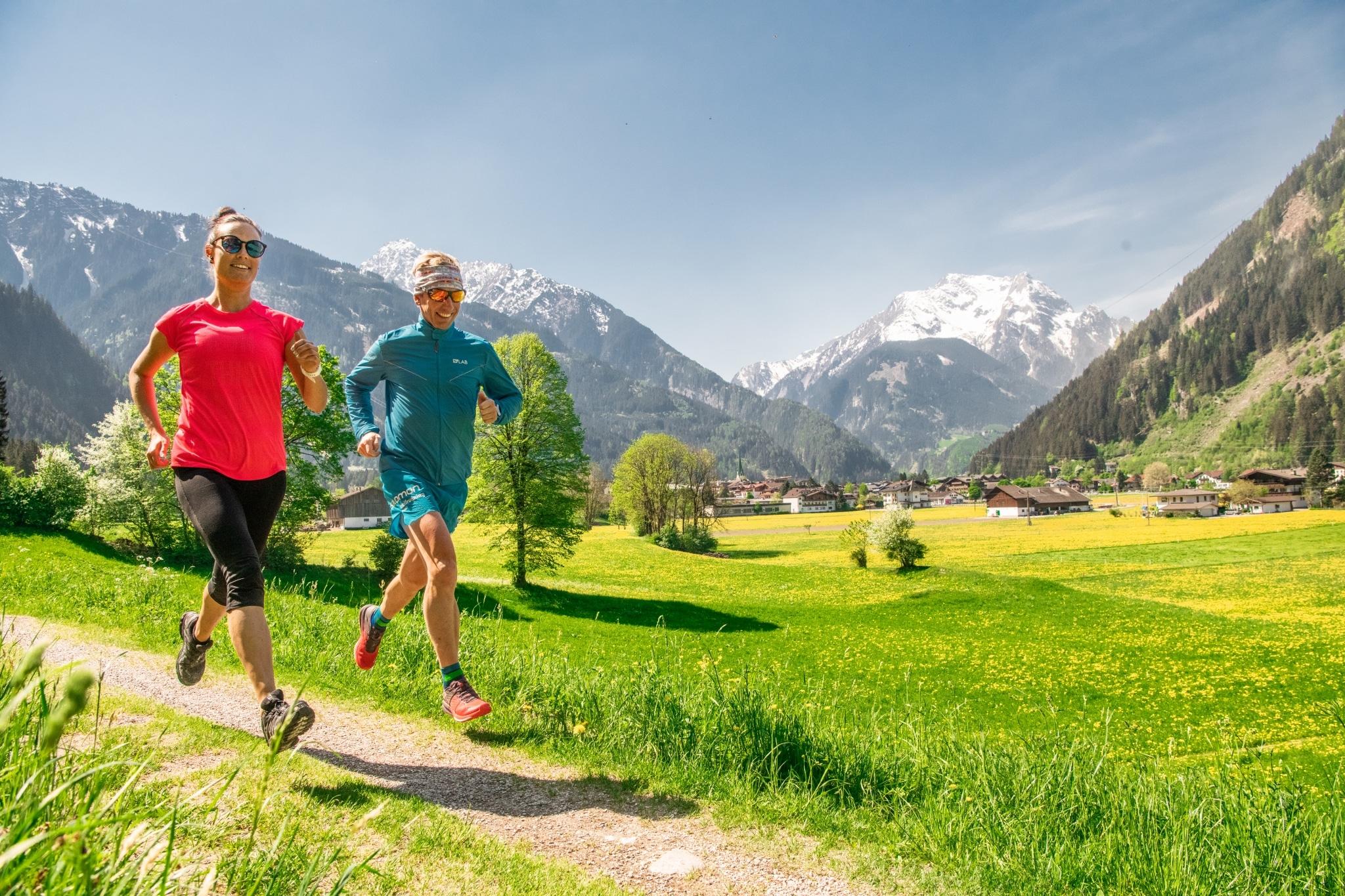 Trailrunner im Zillertal