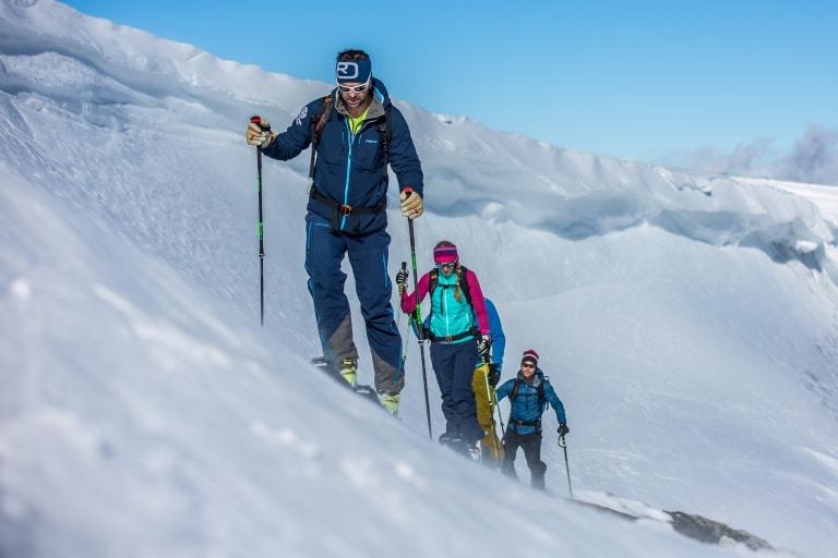 Skitour Gruppe