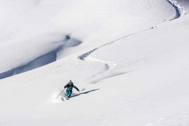 Freerider im Schnee
