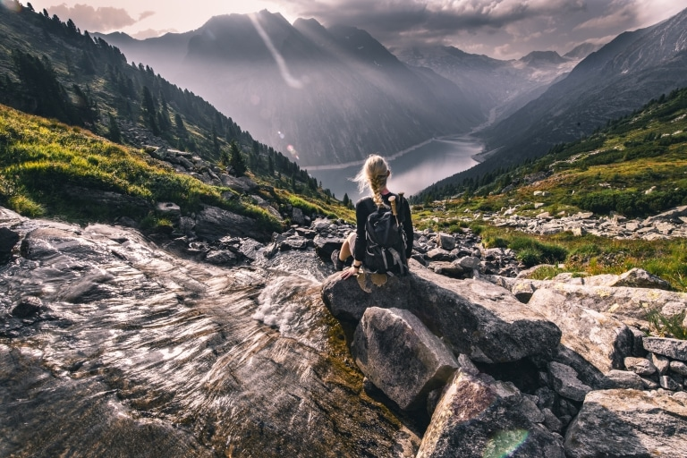 Wanderung Olpererhütte Mayrhofen © TVB Mayrhofen Dominic Ebenbichler