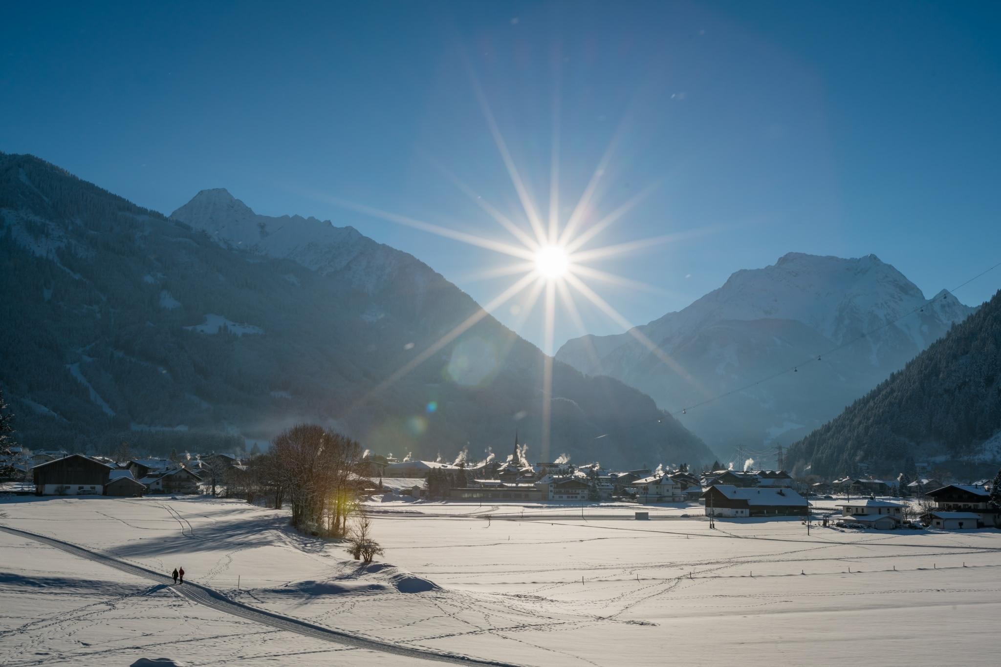 Mayrhofen im Winter