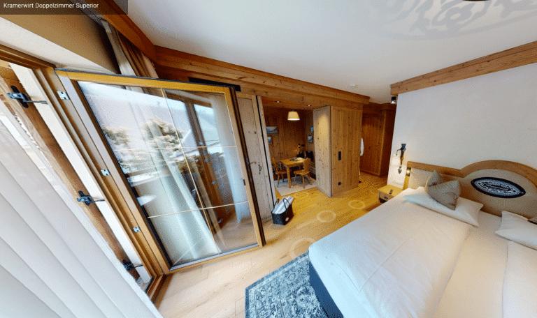 3D Rundgang Kramerwirt Doppelzimmer Superior