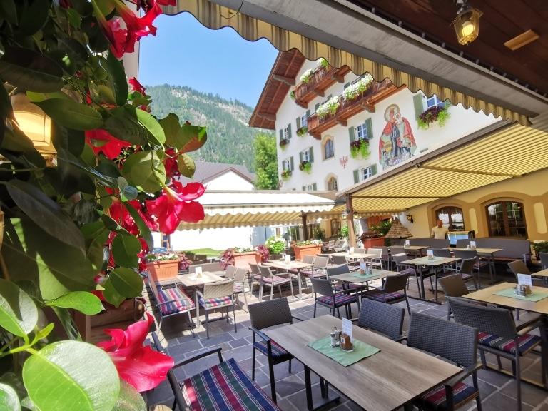 Sommer beim Kramerwirt in Mayrhofen